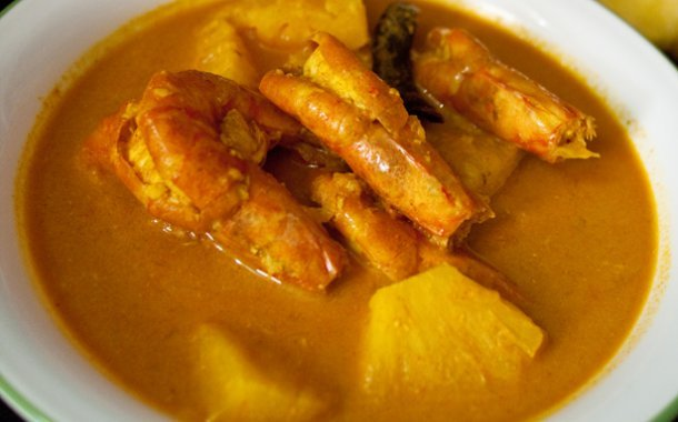 Pineapple Prawn Curry Recipe