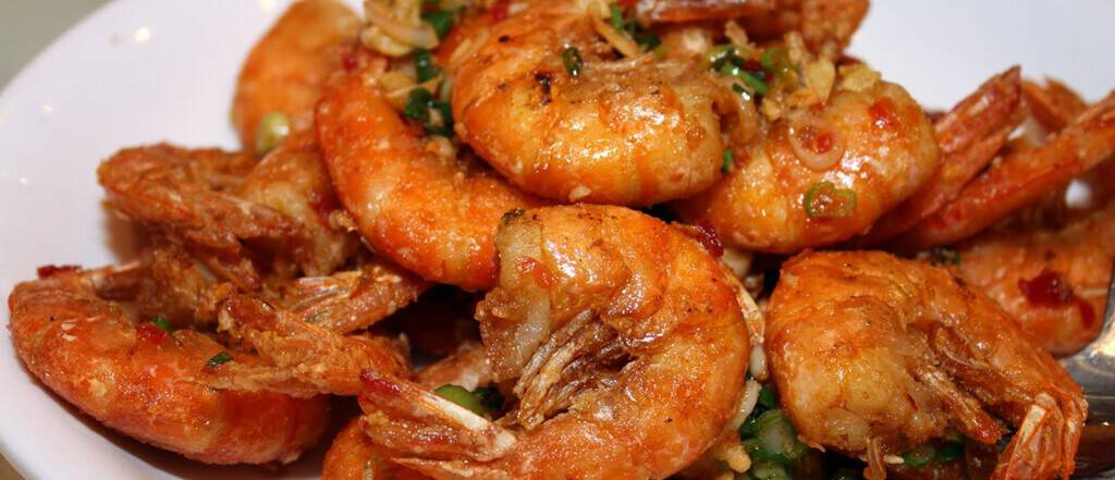 Thai Ginger Prawns recipe