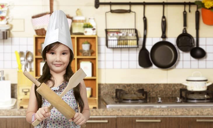Asian cooking equipment & kitchen