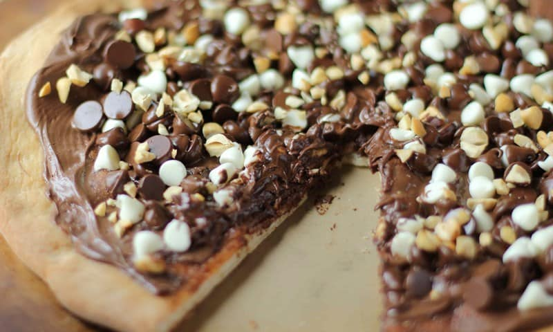 Cherished Chocolate Pizza