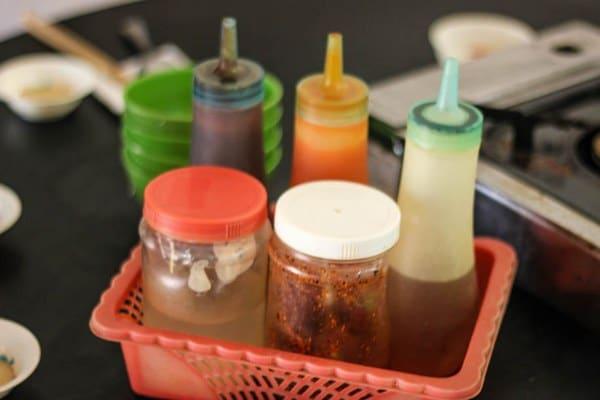 Vietnamese condiments & sauces