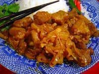 Burmese Style Pork Curry
