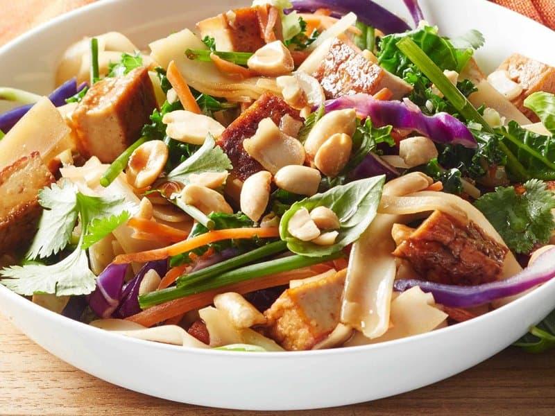 Authentic vegetarian Pad Thai