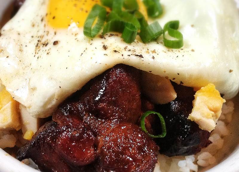 Red Pork Pot Roast on rice