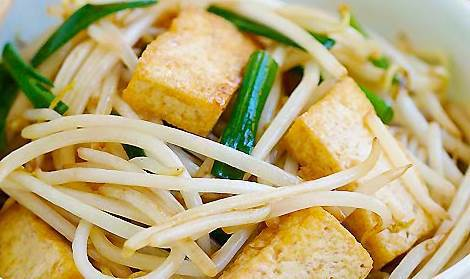 Beans Sprouts with Beancurd