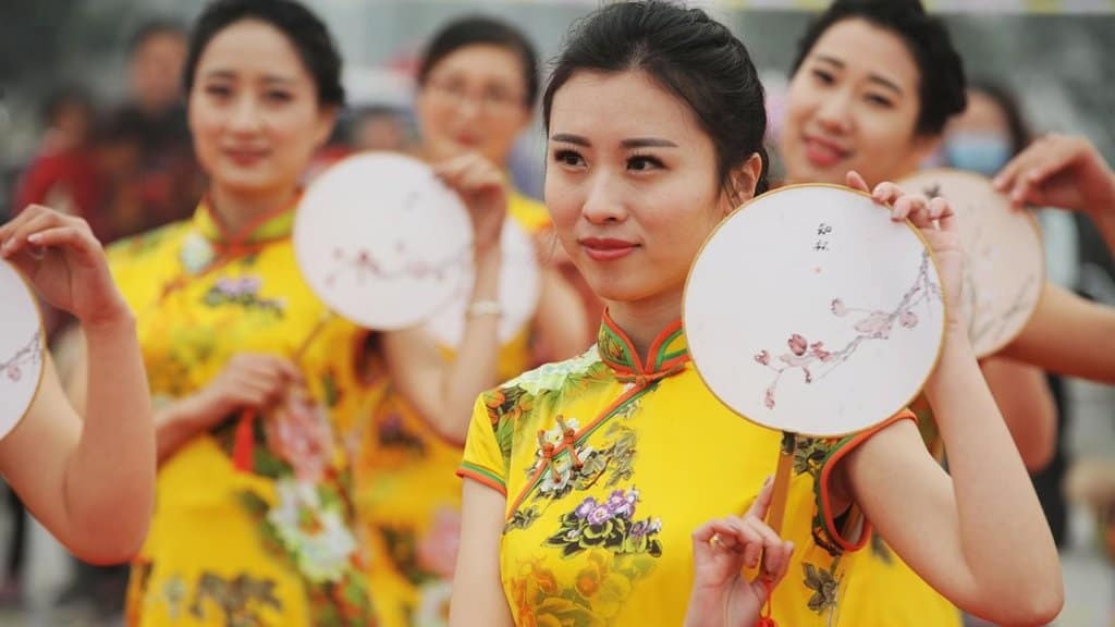 Cheongsam traditional dress