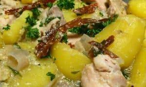 Bhutan Meat Recipes - Kewa Phagsha