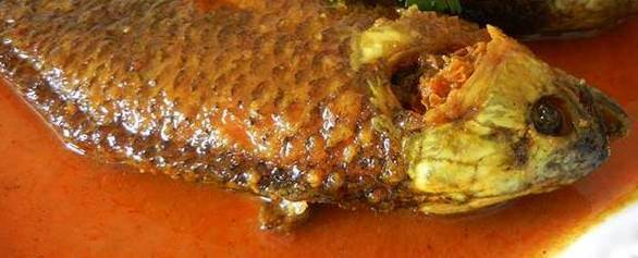 Fish in Mustard Oil