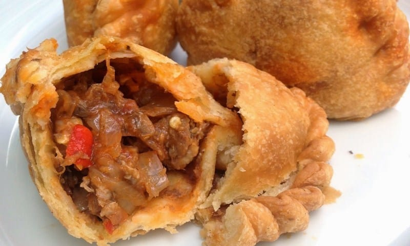 Singapore curry puffs