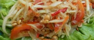 East vegetarian Thai recipes and dishes
