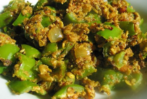 Green Pepper Curry