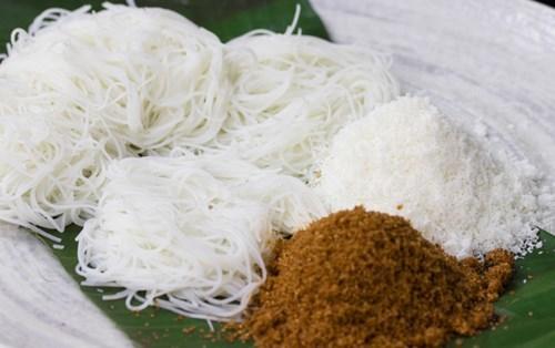 Putu Mayam - Malaysian string hoppers