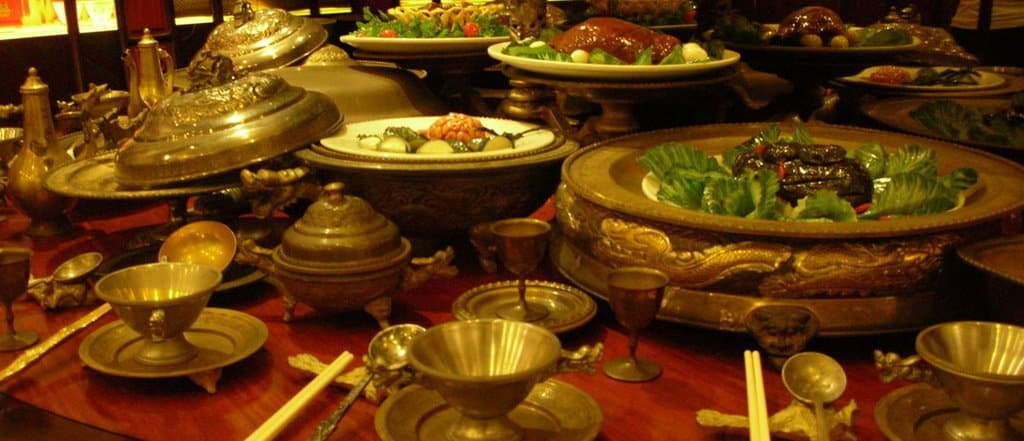 Chinese food history