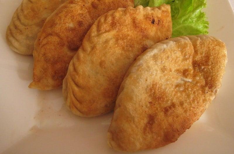 Huushuur - fried meat pasties
