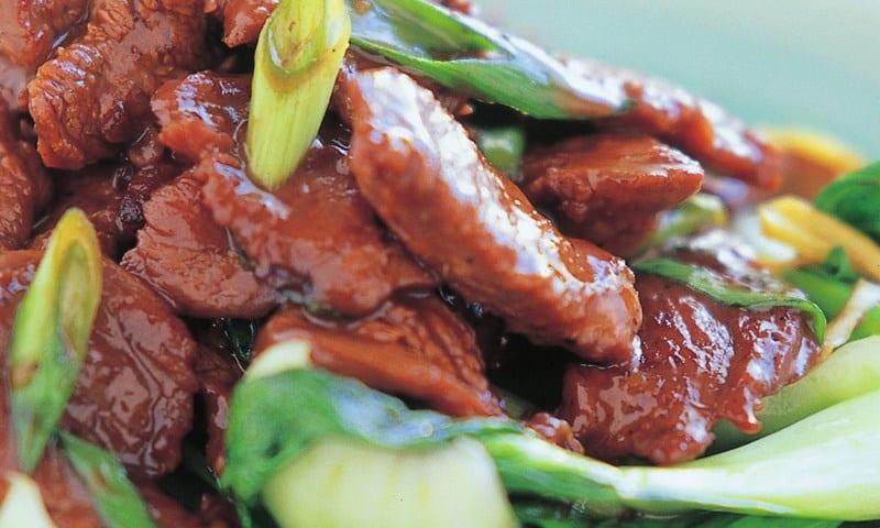 Mongolian lamb recipe