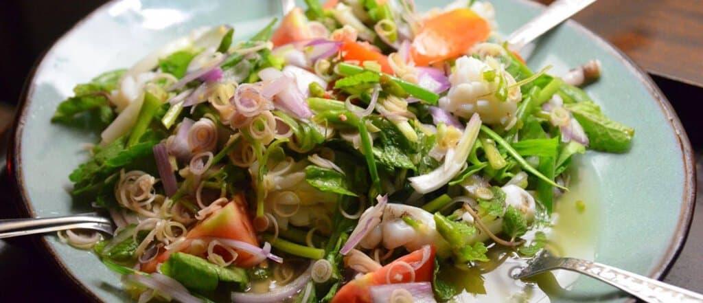Thai salad recipes - Yum Thale
