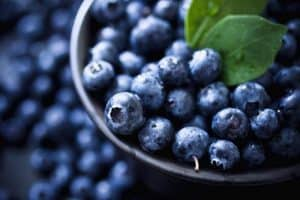 Child-friendly foods - blueberries