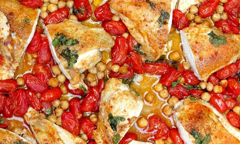Smoky Chicken & Chickpeas