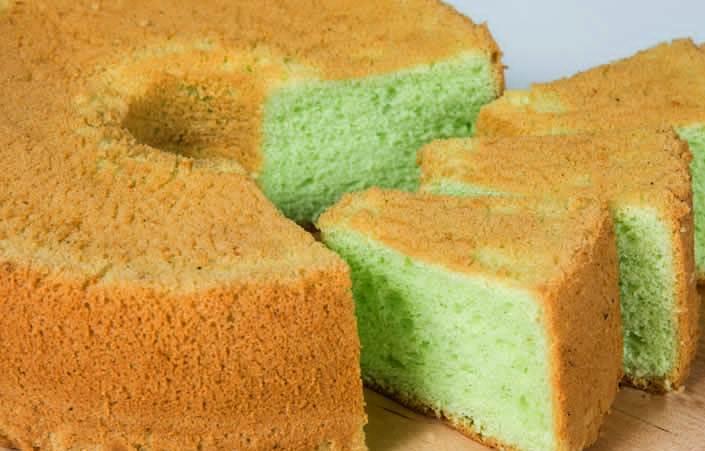 Panda Chiffon Cake 2