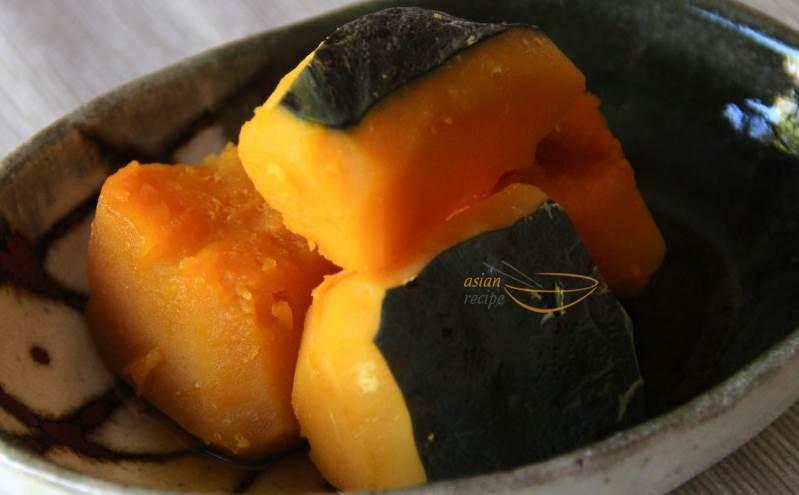 Simmered Kabocha -recipe