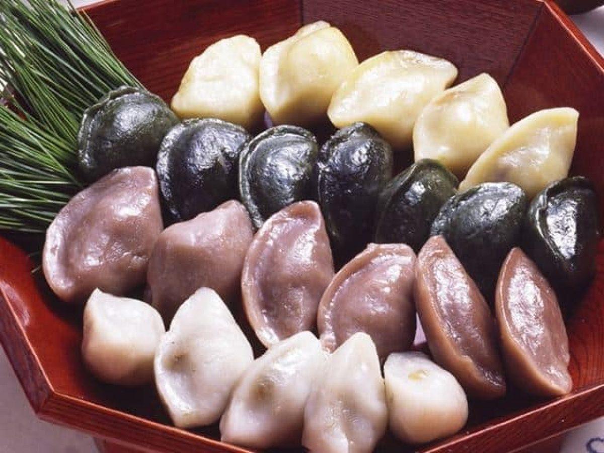 Songpyeon - Korean Rice Cakes - Asian Recipe