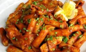 Spicy rice cakes - Korea