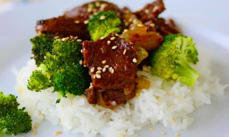 Mongolian Beef & Broccoli