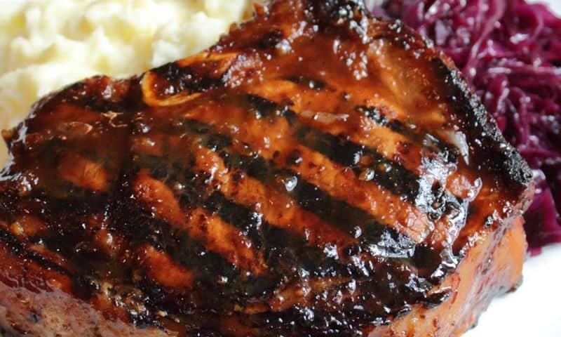 Pork chops - Mongolian-style