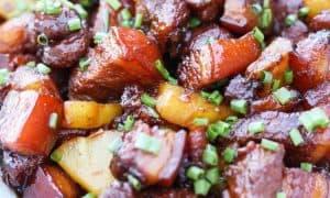 Vietnamese braised pork ribs