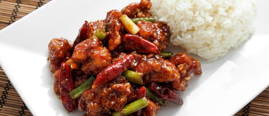 General Tso's Chinese chicken recipe
