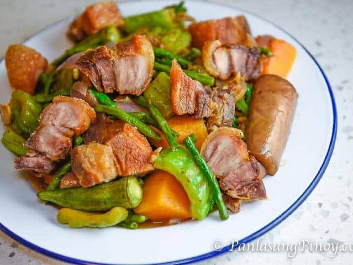 How To Cook Pinakbet Or Pakbet Tagalog Version Asian Recipe