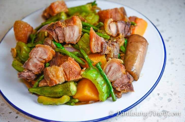 How To Cook Pinakbet or Pakbet Tagalog Version