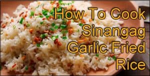 Sinangag Garlic Fried Rice