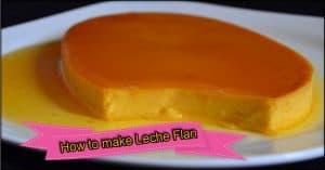 make Leche Flan