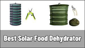 Best Solar Food Dehydrator