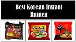 best korean instant ramen