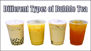 types of Bubble Tea