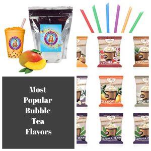 Most Popular Bubble Tea Flavors