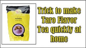 Taro Flavor