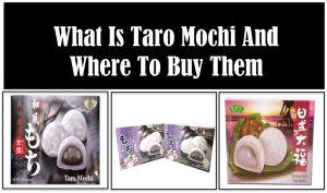 What is Taro Mochi