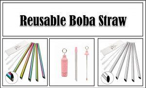 Reusable Boba Straw